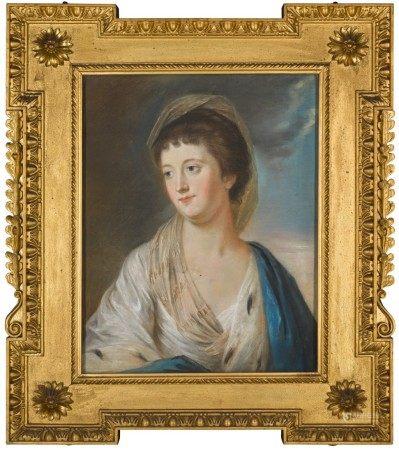 ATTRIBUTED TO ARTHUR POND | PORTRAIT OF ANNE, VISCOUNTESS MASSEREENE, LATER COUNTESS OF MASSEREENE (1716-1805), CIRCA 1791