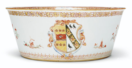 AN ENGLISH MARKET ARMORIAL BASIN