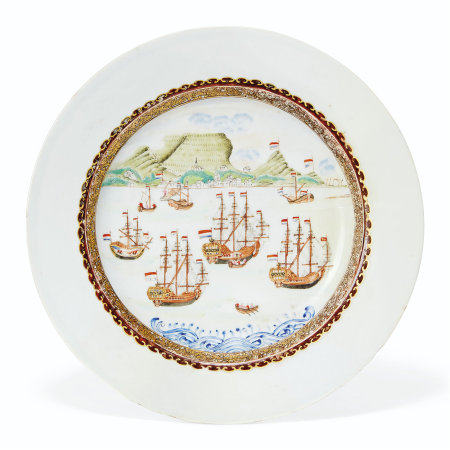 A CAPE OF GOOD HOPE PLATE