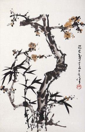 孙其峰(b.1920) 双清图
