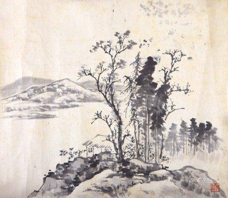 孙其峰(b.1920) 山水