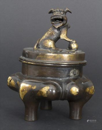 Goldsplash-Koro, China, späte Ming-Dynastie (1368-1644)