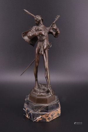 孟菲斯特铜像 - AUGUSTE DE WEVER