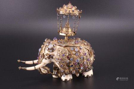 斯里兰卡 - 大象牙雕