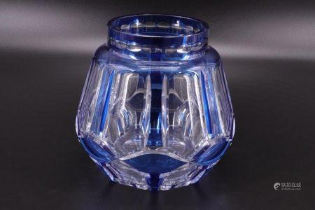比利时 - VAL SAINT LAMBERT - 艺术装饰 - 蓝色调