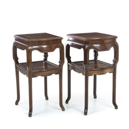 Pair of side tables, Minguo