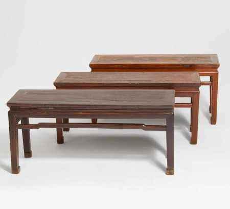 THREE SMALL TABLES.