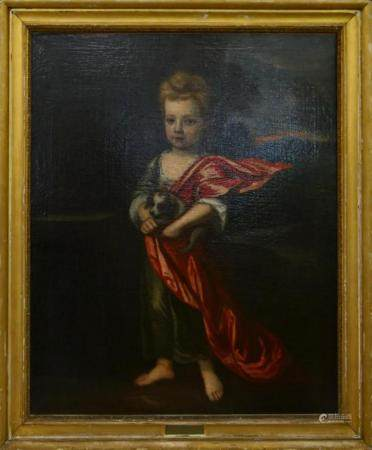 SIR GODFREY KNELLER (UK 1646-1723) OIL PORTRAIT