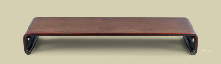 清代(1644-1911) 红木如意云纹下卷