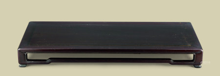 清代(1644-1911) 紫檀长方台
