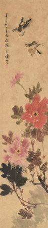王雪涛(1903~1982)  花鸟 镜心 设色纸本