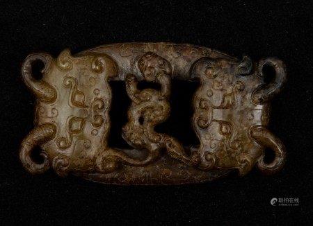 Eight jade figurines, China, 1900s