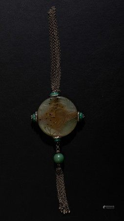Various jade and hardstone items, China, 1900s