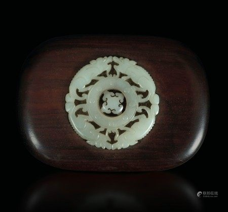 A wood and ivory box, China, Qing Dynasty, 1800s