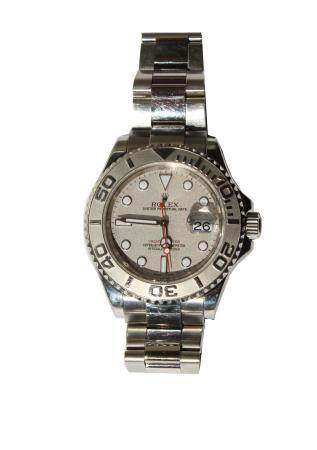 Rolex, Stainless Steel Yachtmaster Watch