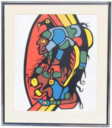 Norval Morrisseau (Ontario/Canada, 1932 - 2007)