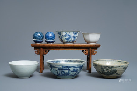 A group of Chinese shipwreck wares incl. the Hatcher Cargo, Transitional period