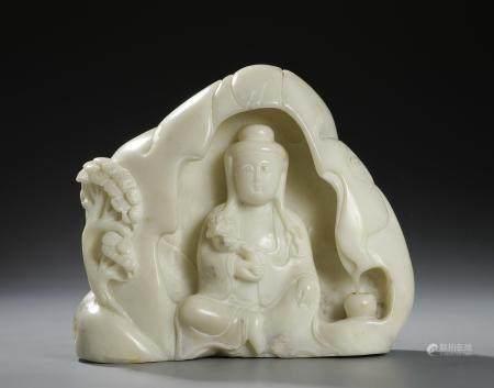 Chinese Furong Figure of Guanyin