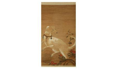 A JAPANESE HANGING SCROLL.