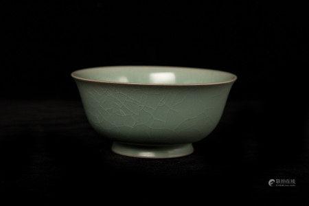 宋代天青釉碗