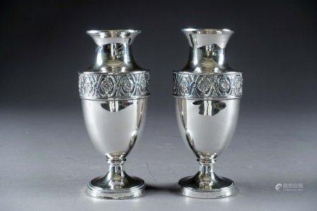 Paire de Vases balustre, Louis XVI.