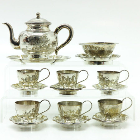 A Chinese Tea Service