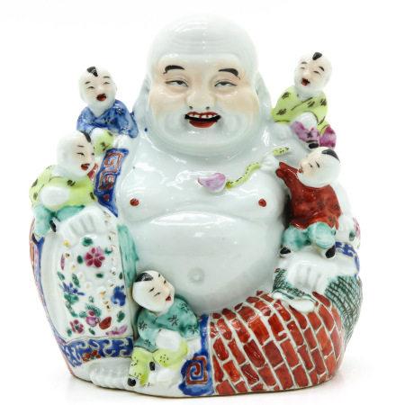 A Chinese Buddha Sculpture