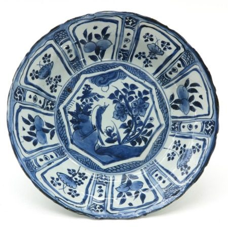 A Chinese Kraak Porcelain Charger