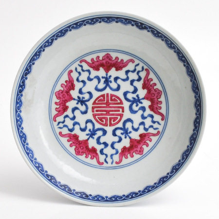 A Round Chinese Dish