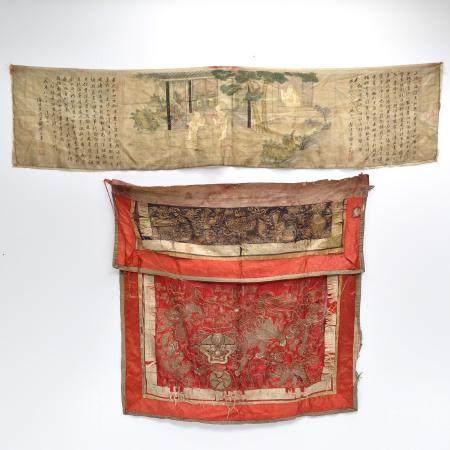 Two Chinese Silk Textiles