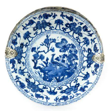A Chinese Blue and White Serving Dish