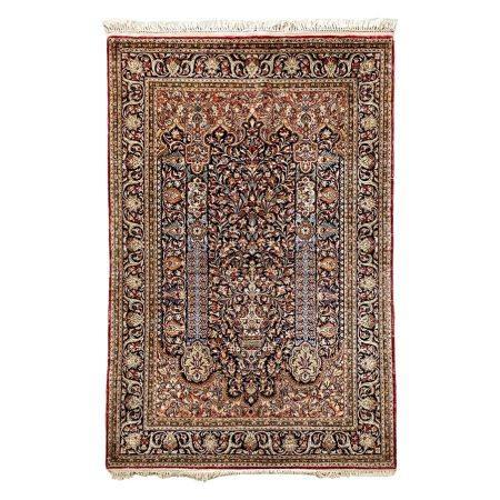A SILK QUM, IRAN, MODERN 160 by 106cm