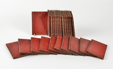 19th Century 'Little Ones Library' a group of miniature volumes, twenty-four in total (24)
