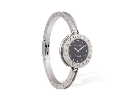 A STAINLESS STEEL BANGLE B.Zero1' WATCH, BY BULGARI, CIRCA 2010The 4-jewel quartz movement, with