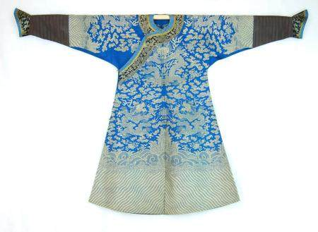 A Very Fine Chinese Dragon Robe