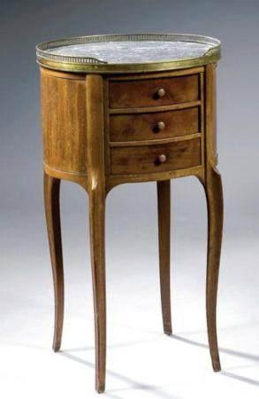 A Fine Mahogany Oval Table