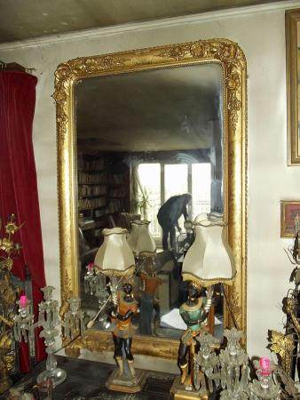 A Gilt Frame Mirror