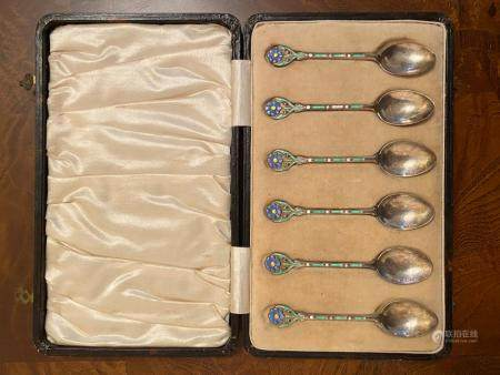 A Box of Silver Spoons