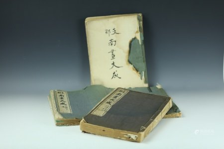 Three China Antique Art and Painting Books