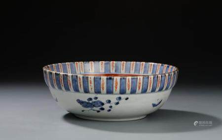 Japanese Imari Punch Bowl