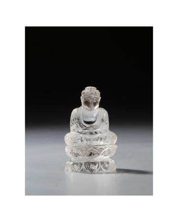 Chinese Crystal Figure of Guanyin