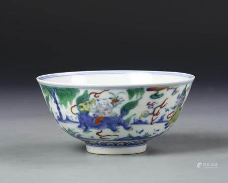 Chinese Doucai Bowl