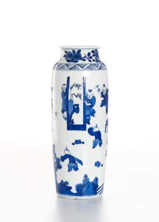 Chinese Blue and White Sleeve Vase