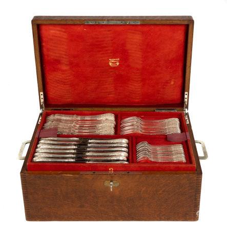 Set of Sterling Silver Flatware by Maison Puiforcat