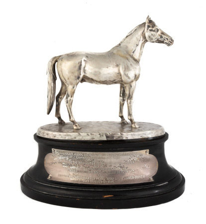 Sterling Horse Trophy