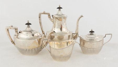 Gorham Four Piece Sterling Tea Set