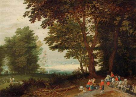 JAN BRUEGHEL THE ELDER (17TH CENTURY FOLLOWER OF)
