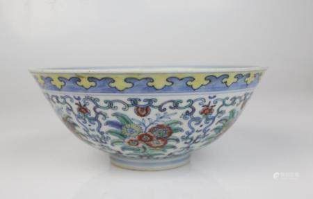 A Chinese Doucai Bowls