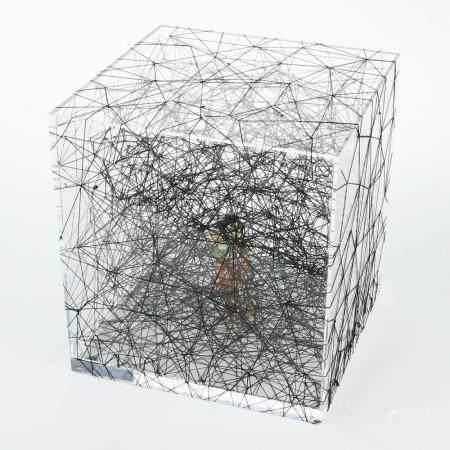 "Chiharu Shiota ""Trauma Alltag"" Mixed Media Sculpture"