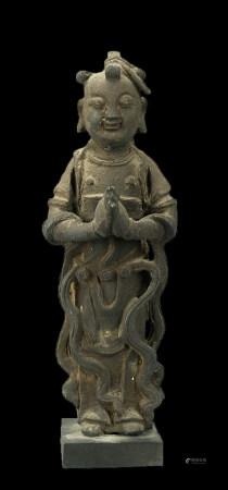 古銅 童子立像